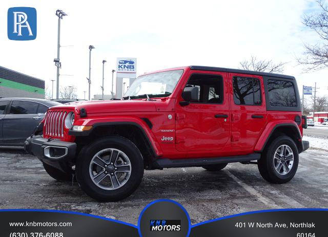2019 JEEP WRANGLER UNLIMITED #1694823886